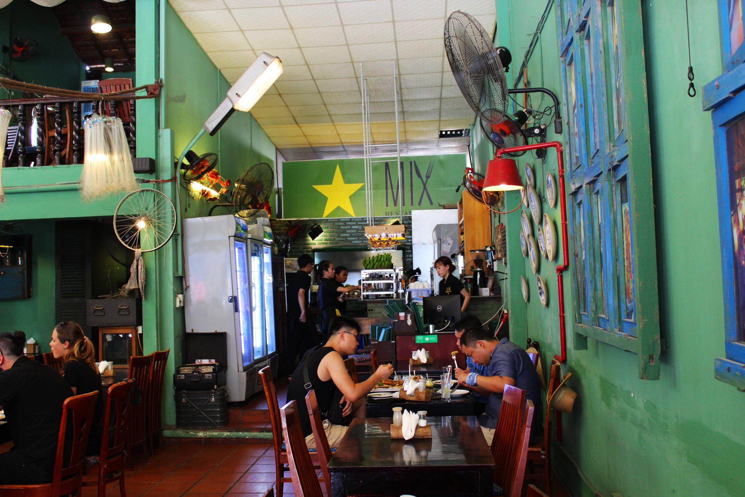Interior of Mix Nha Trang