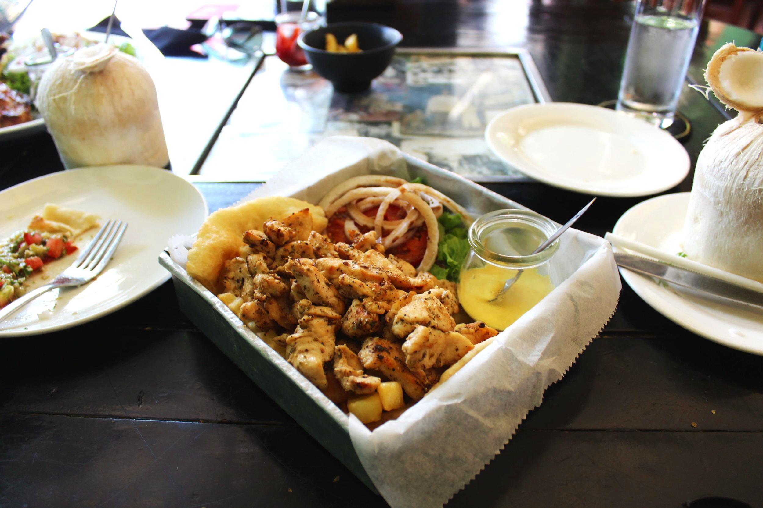 Delicious Chicken Patatogiros