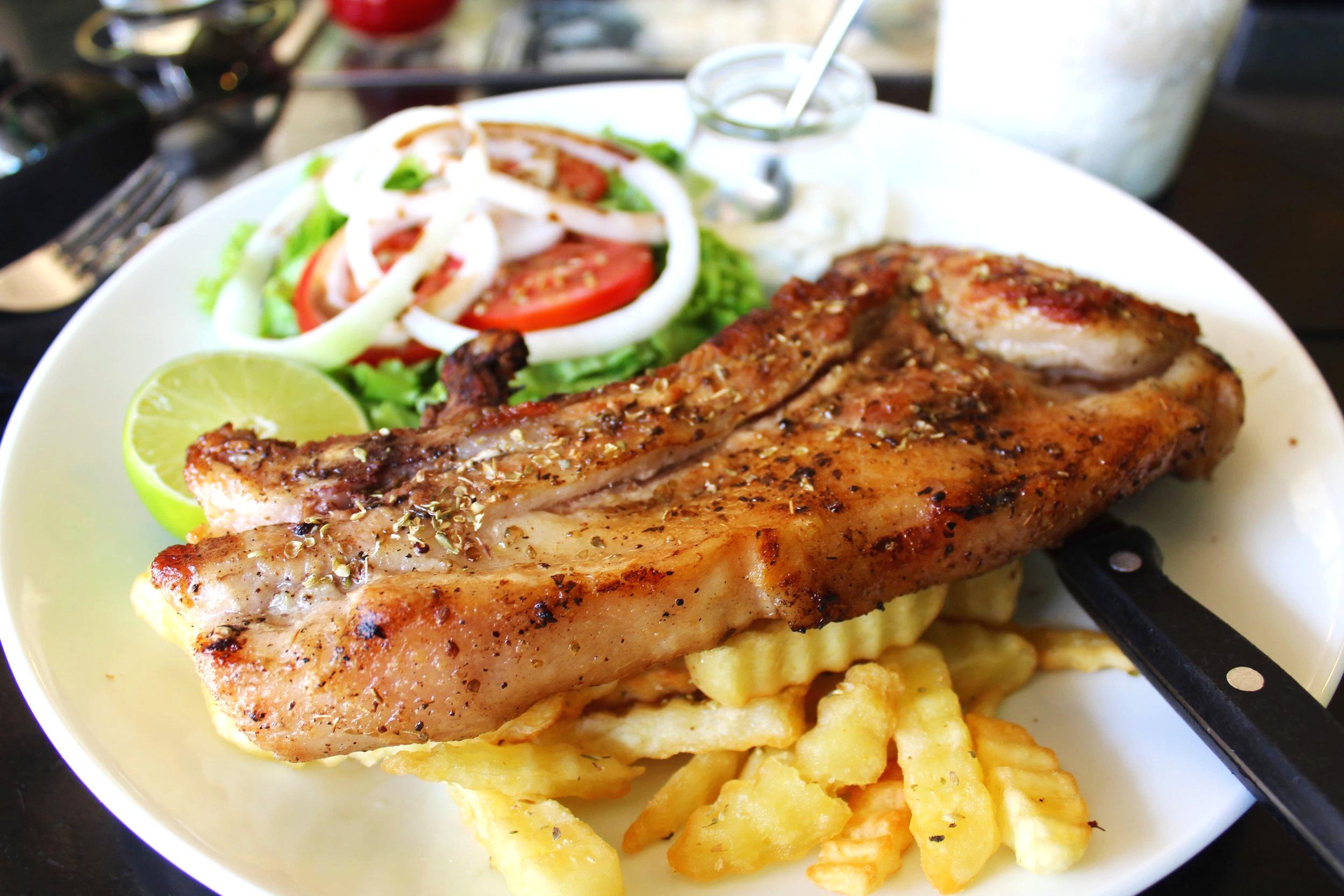 The Mighty Pork Britzola