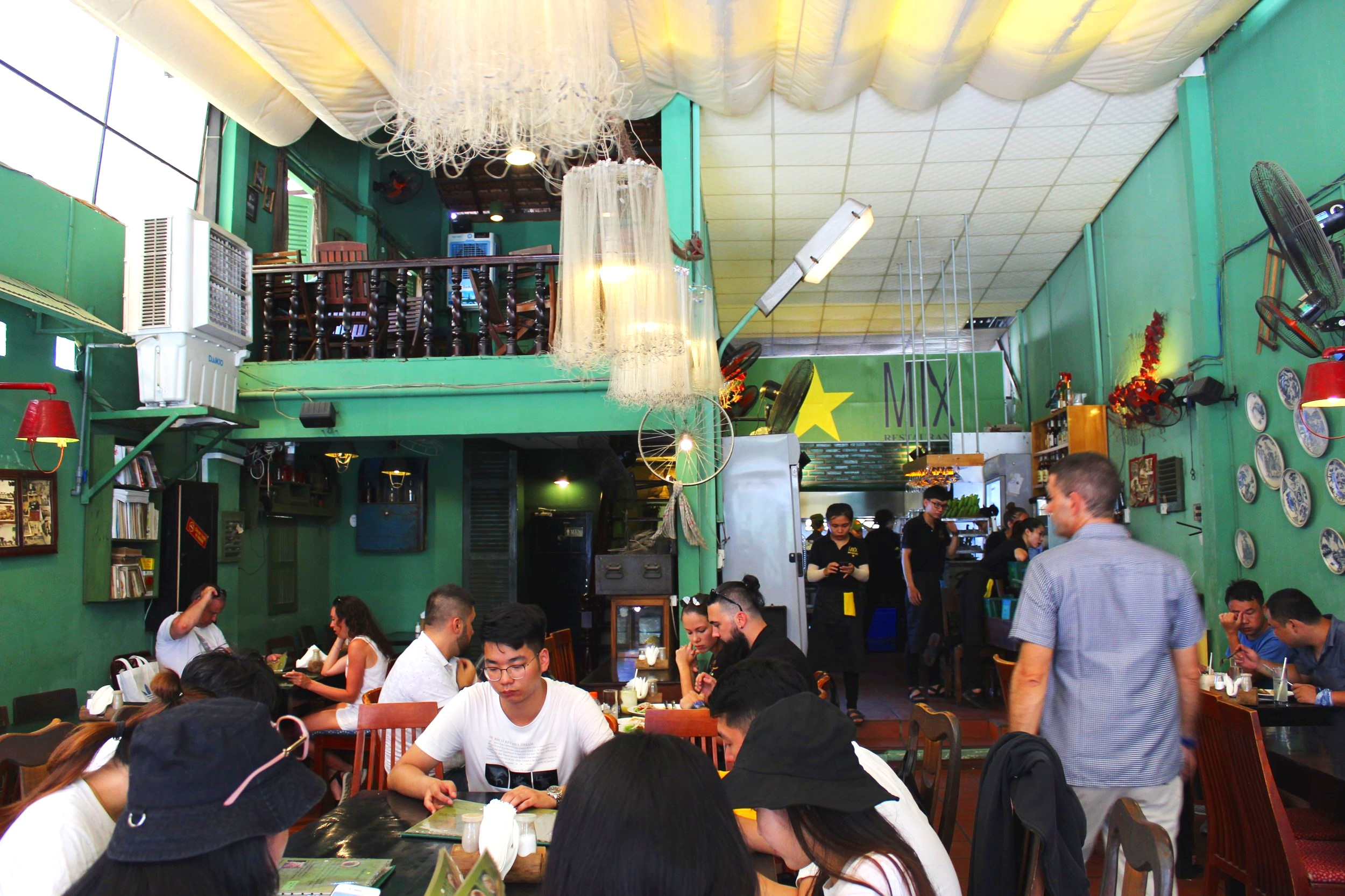 The Vibrant Jungle Green Interior of Mix Nha Trang