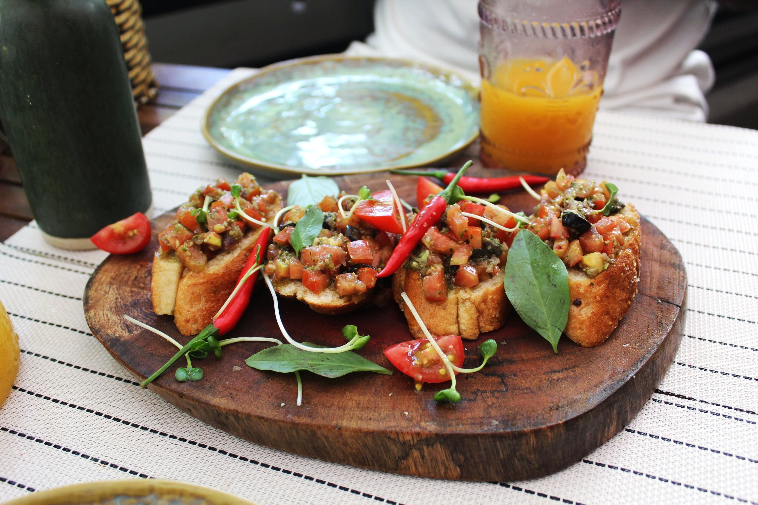 Bruschetta but not as you know it!