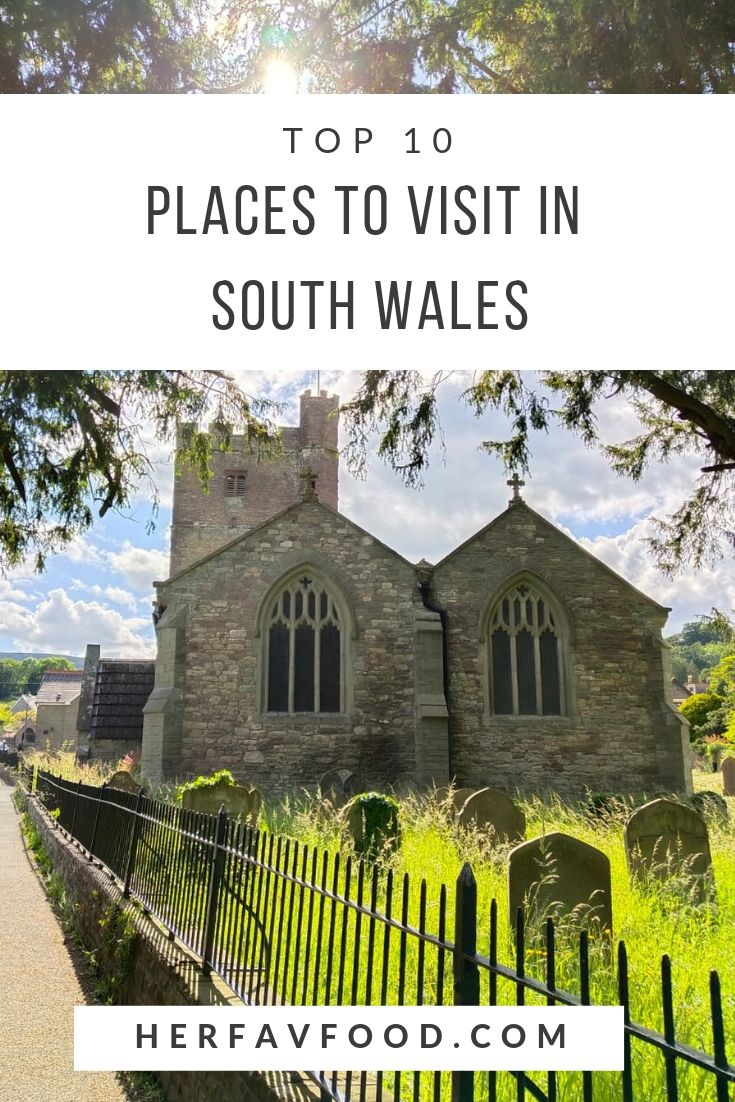 top places to visit in South East Wales
