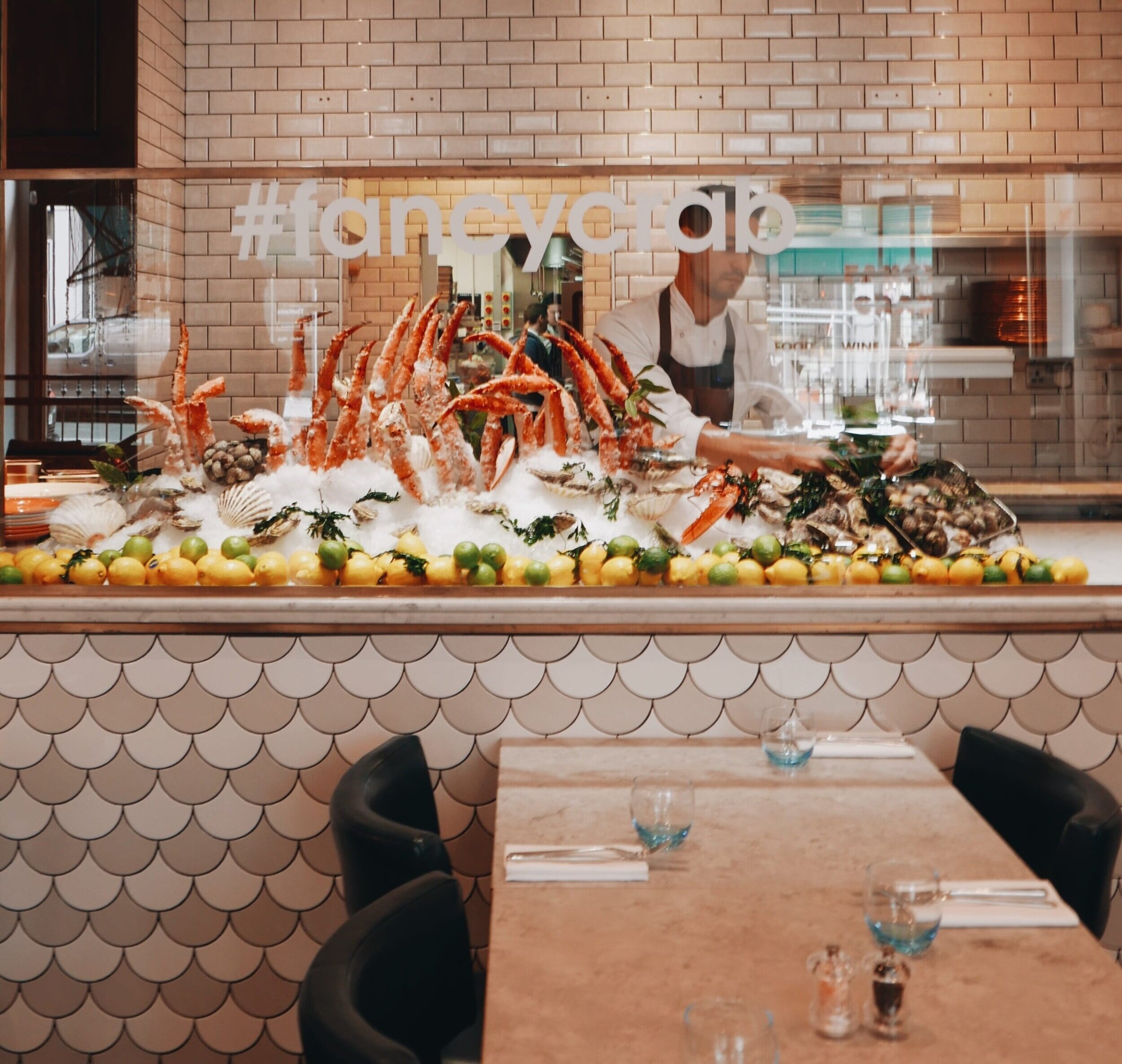 Fancy crab restaurant review