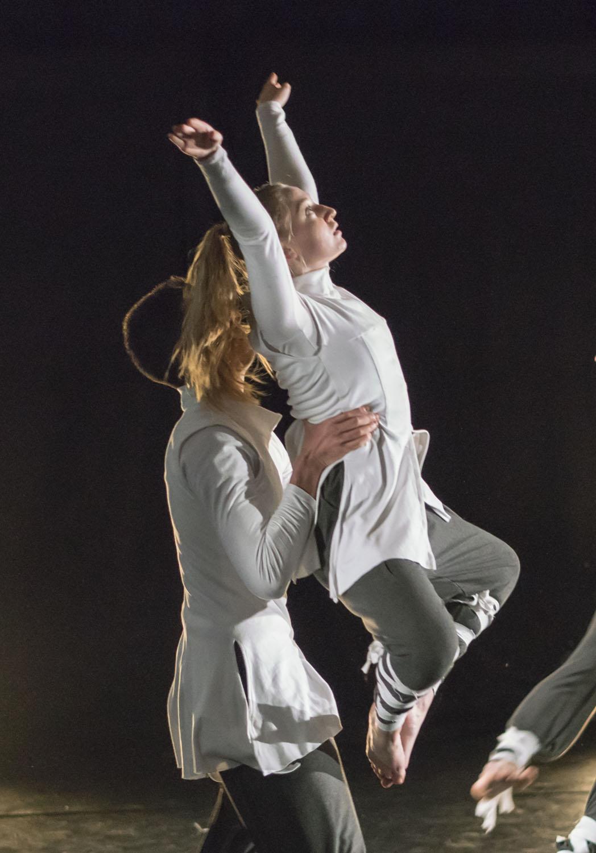 Performance Group performing Luta