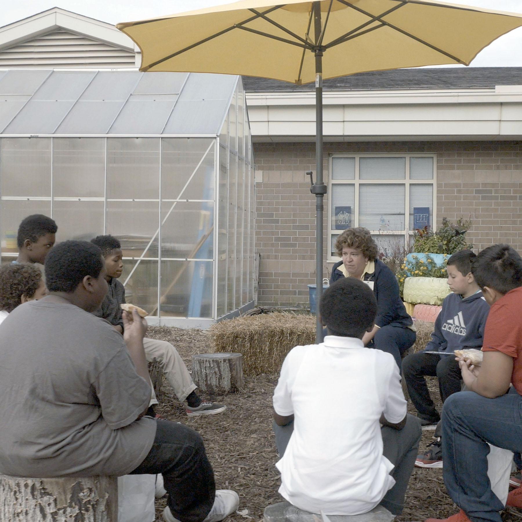 CONNECTIONS: Seatack Elementary School Garden Breakfast Club