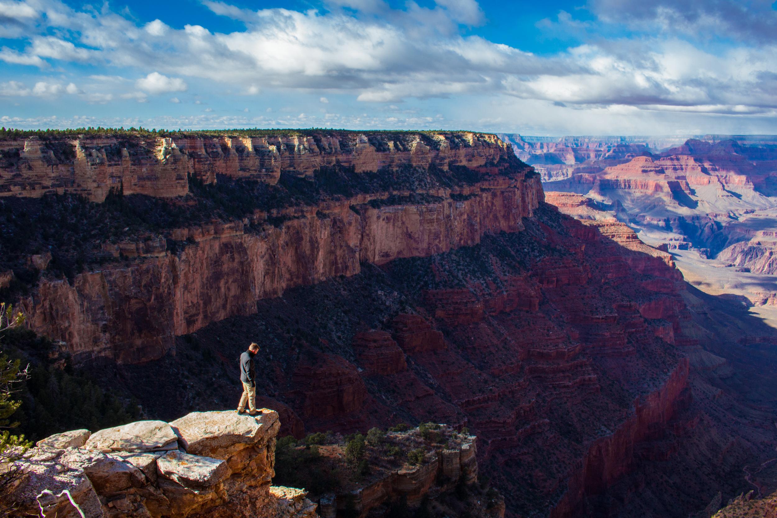 Grand Canyon in Winter, Arizona