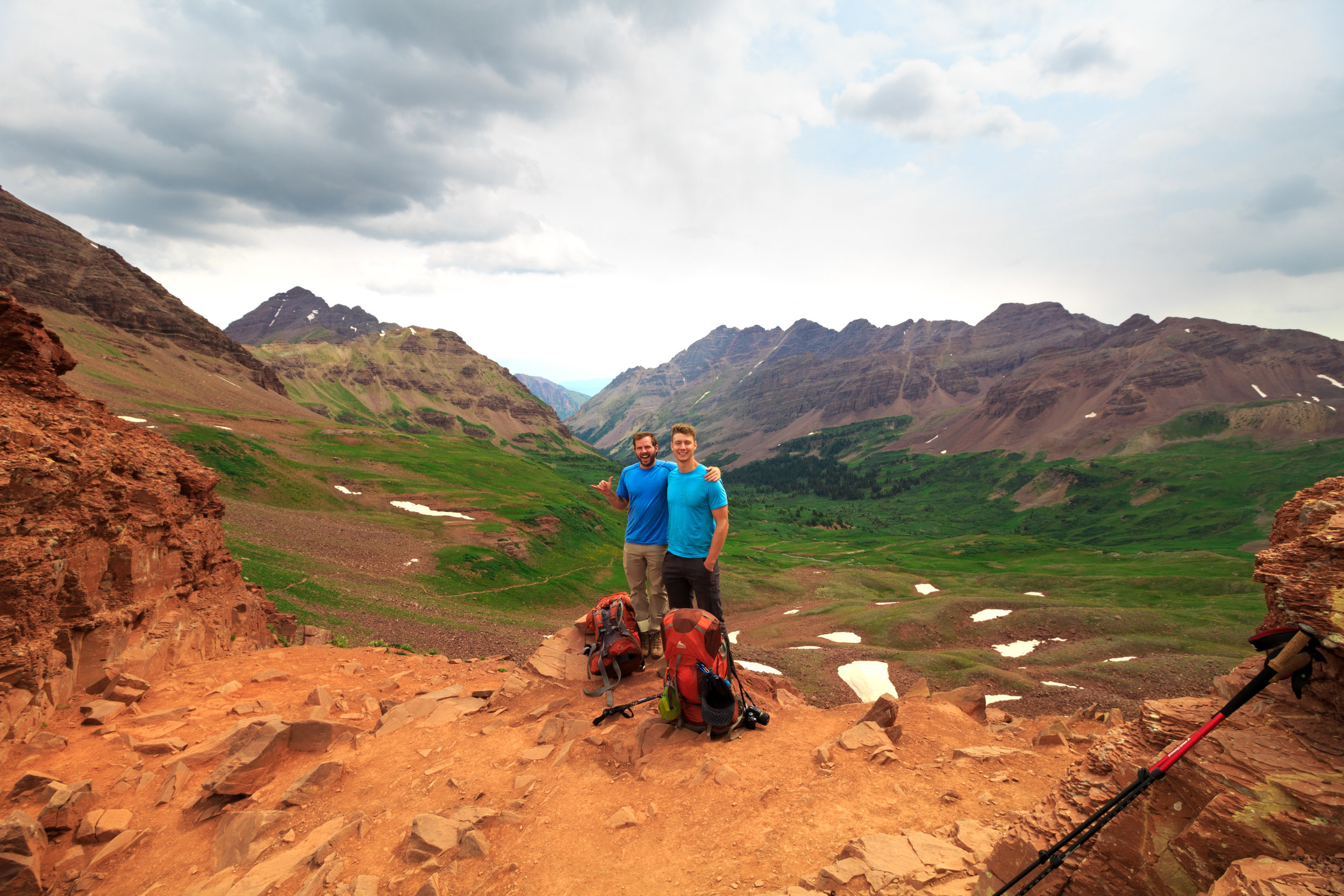 West Maroon Pass, Colorado