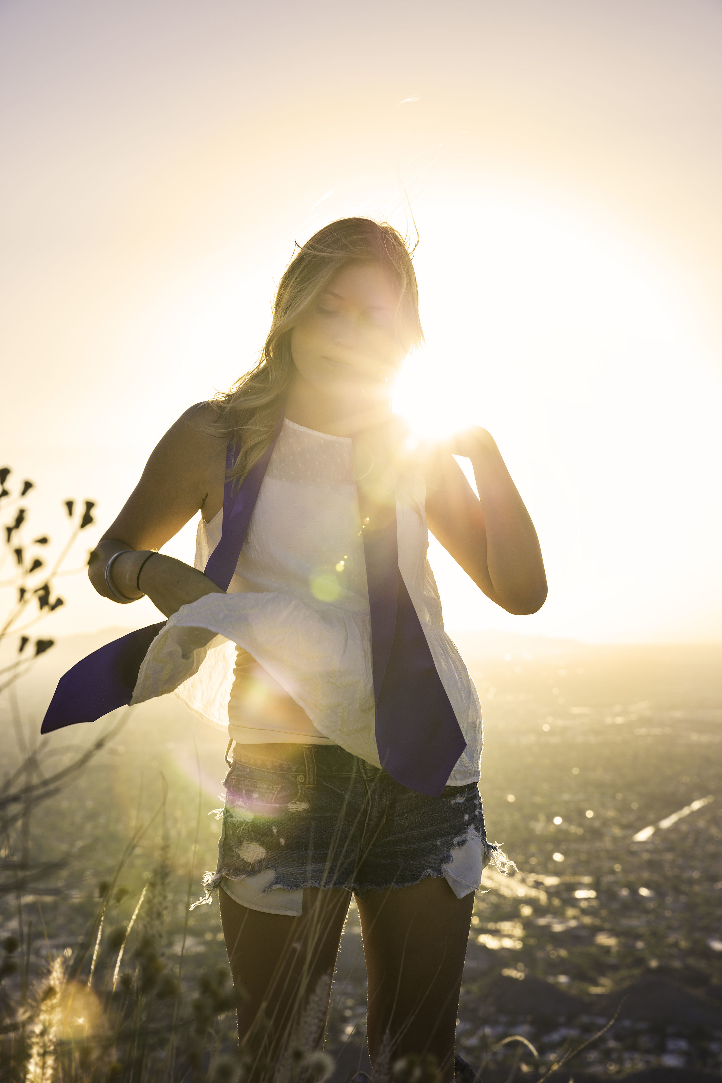 Sun Flare Portrait