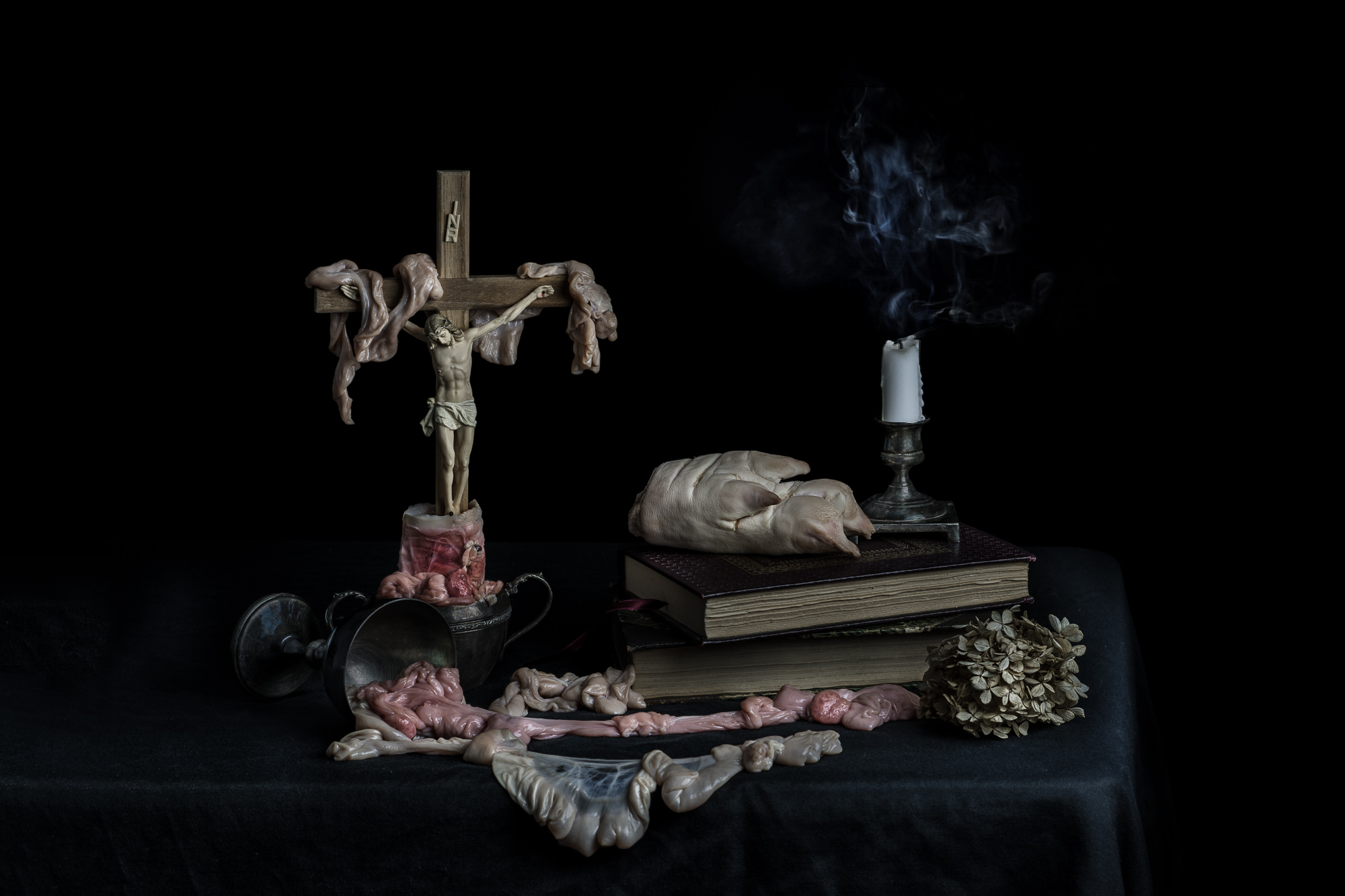 Easter Vanitas: This piece is now available for purchase in my  online store .
