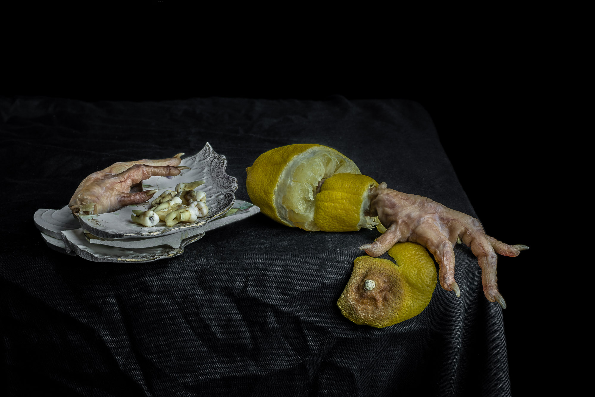 Still Life with Peeled Lemon: print now  available for purchase .