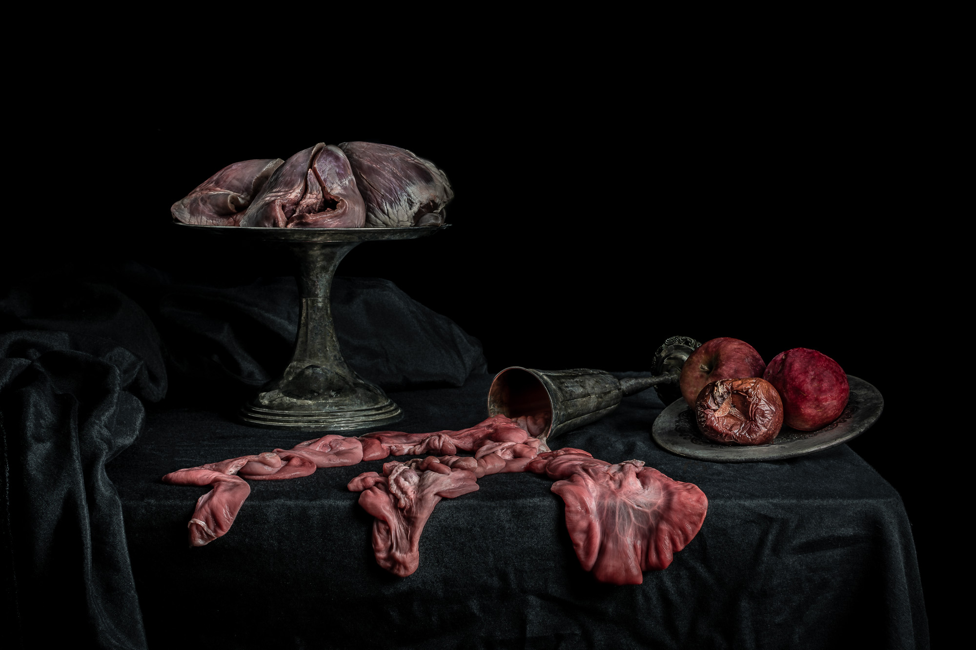 Still Life with Apples and Pig Hearts: print now  available for purchase .