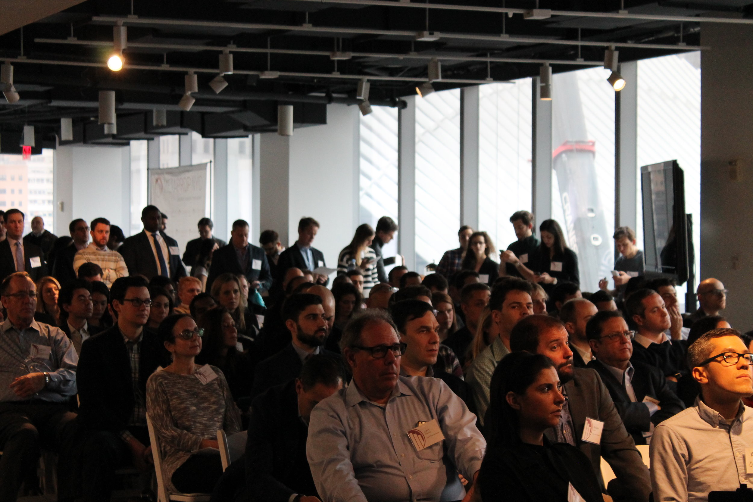 MetaProp NYC's East Coast Demo Day at 7 World Trade Center