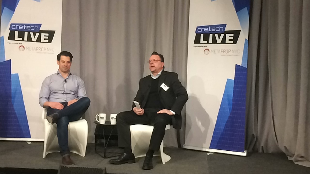 Nick Romito, CEO, VTS interviewed by proptech expert Duke Long at today's cre.techLIVE event.