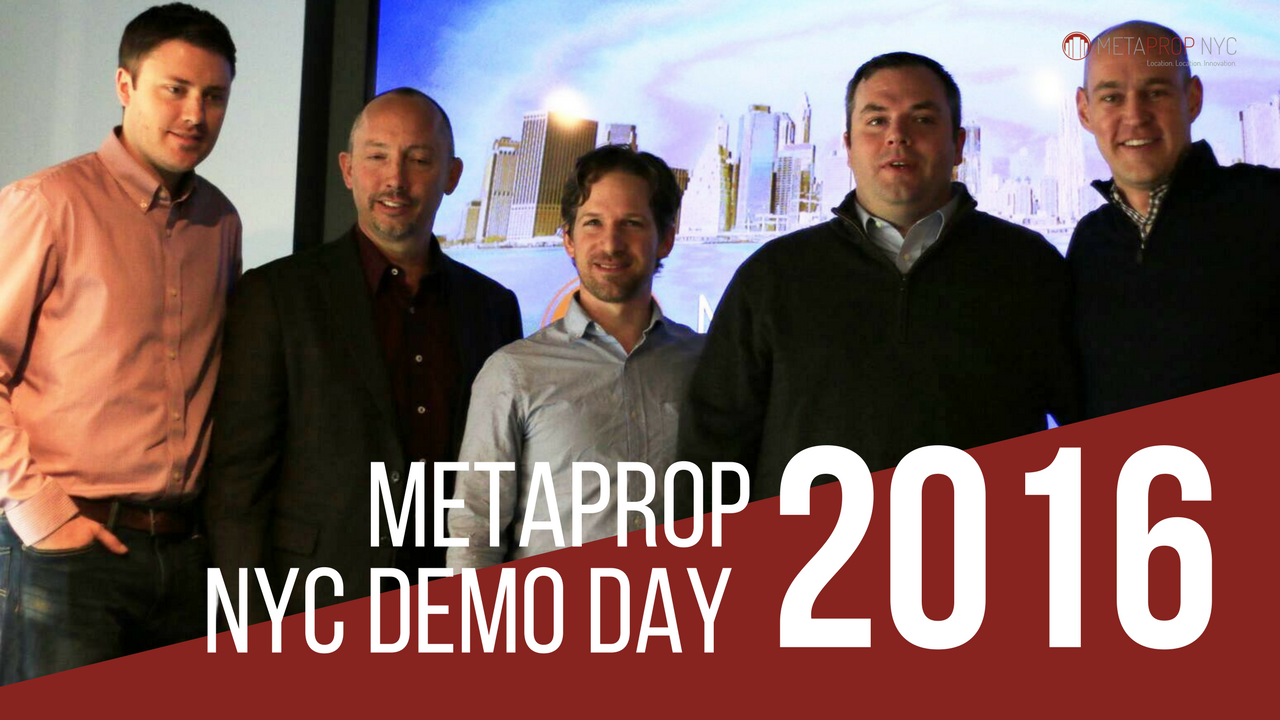 2016 MetaProp NYC Demo Day