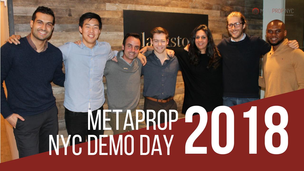 2018 MetaProp Demo Day