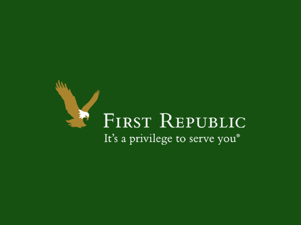 First Republic Bank - First Republic Bank is an American bank and wealth management company offering personal banking, business banking, trust and wealth management services, catering to low-risk, high net-worth clientele.First Republic Bank is the banking community sponsor, supporting accelerator companies with banking services.