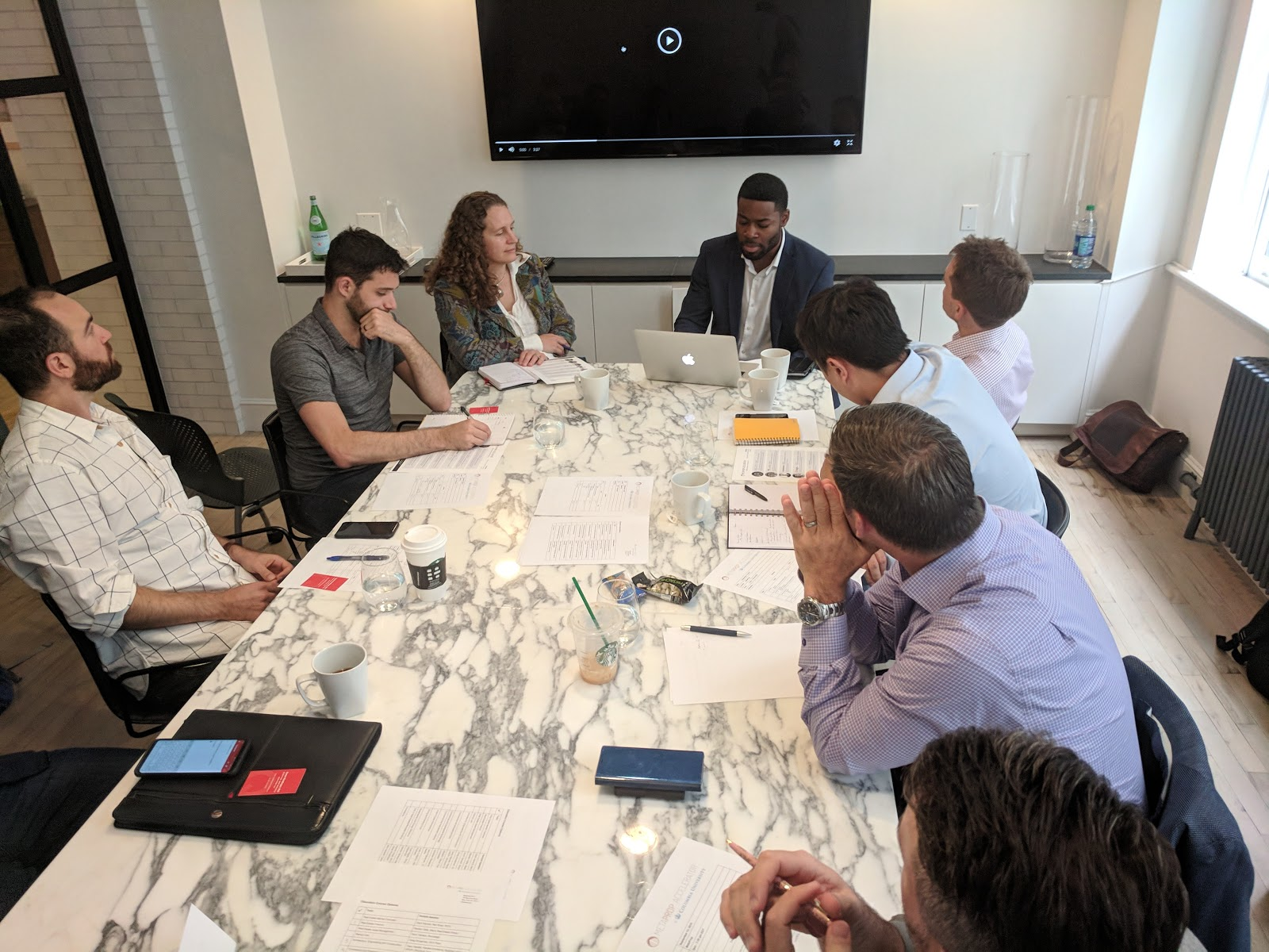 Orientation week featured the brand new MetaProp Accelerator Consortium with  Comcast machineQ ,  Cushman & Wakefield ,  First Republic Bank ,  Fox Rothschild  and  Inmobiliaria Colonial .