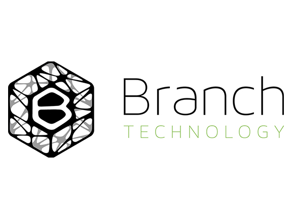 Branch Technology Branch Technology combines novel 3D printing, conventional construction materials, & large-scale robotics.