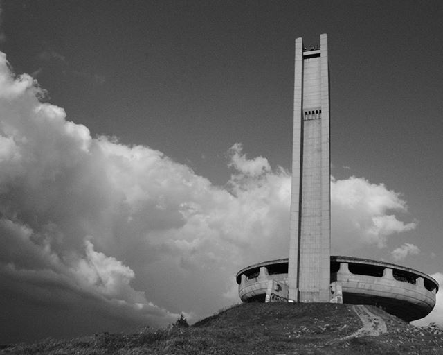 The Monument House of the Bulgarian Communist Party or the Buzludzha Monument will host the first Control Point of TCRNo7. The monument building dominates the skyline, beckoning riders towards the first milestone of their route. The race parcours will direct riders past the monument and over Buzludzha Peak before turning West along small local roads to approach the second climb of the CP1 parcours to 'Beklemento' and the Arch of Freedom Monument. #TCRNo7 #dressliveride #apidura #gothedistance #fizikofficial @apidura @kinesisbikes_uk @fizikofficial @pedaledjapan  @Begach @whitestorkbeer