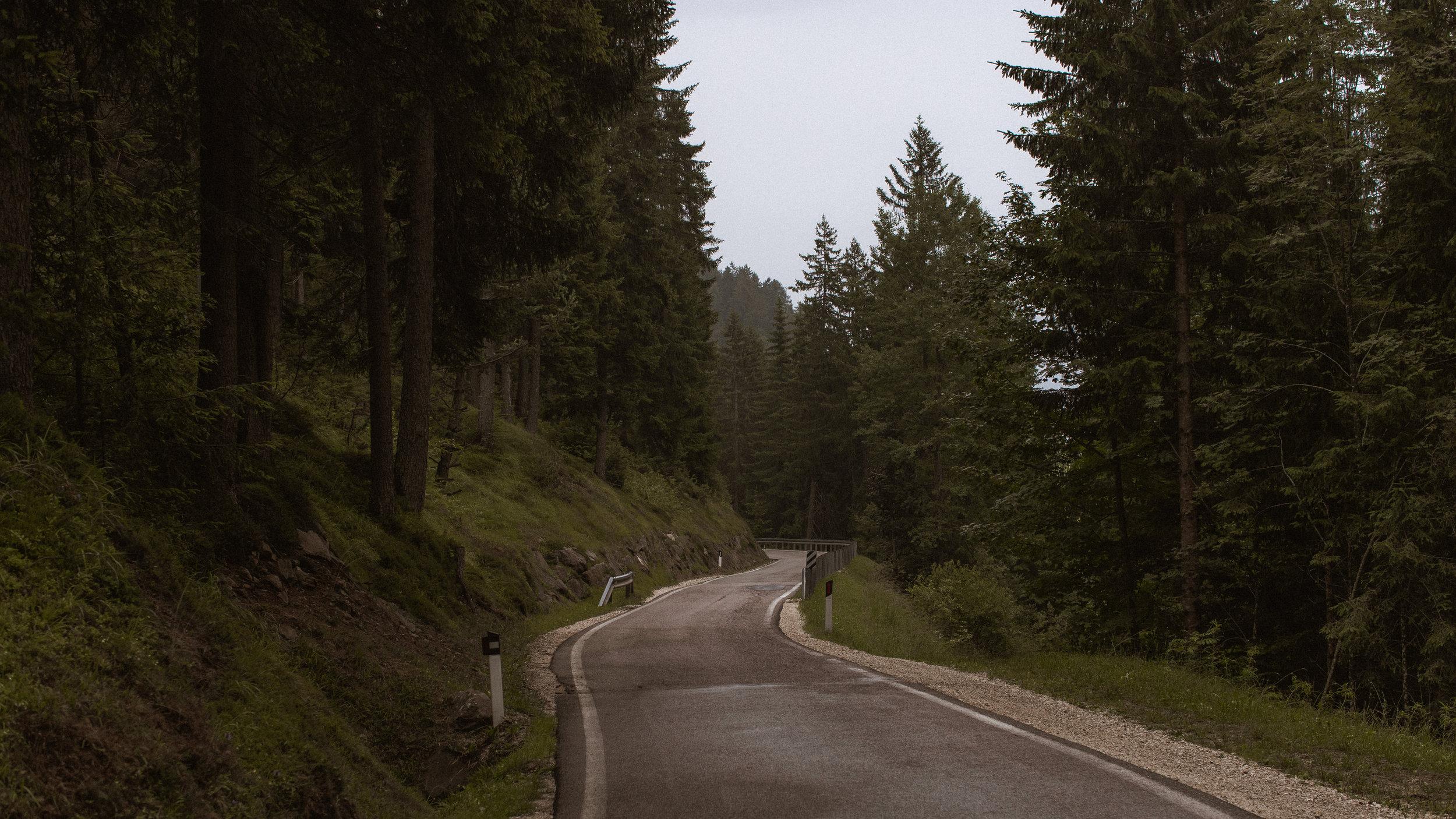 Passo Gardena, South Tyrol. Photo: Angus Sung©