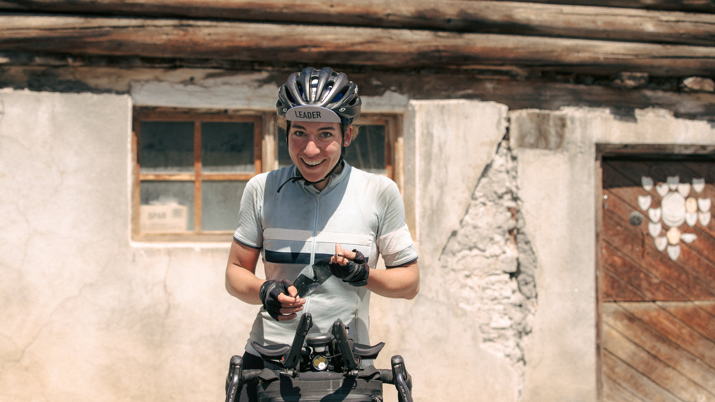Fiona Kolbinger arrives at #TCRNo7 after 2000km of racing. Photo: Angus Sung©