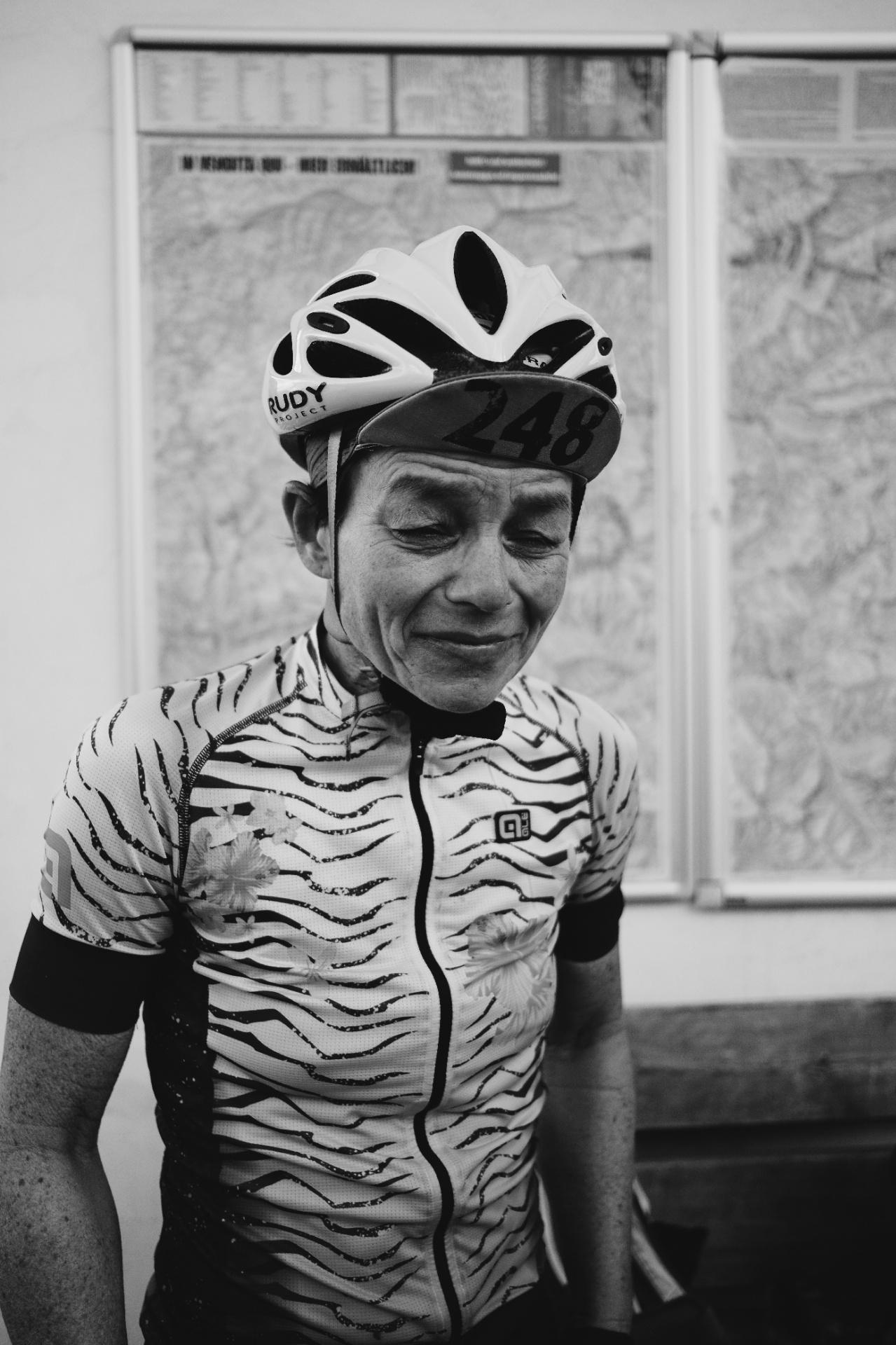 Petra Scherer reflects on her accomplishments. Photo: James Robertson©