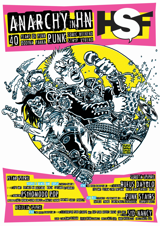 rufus dayglo tank girl herceg novi comic festival punk