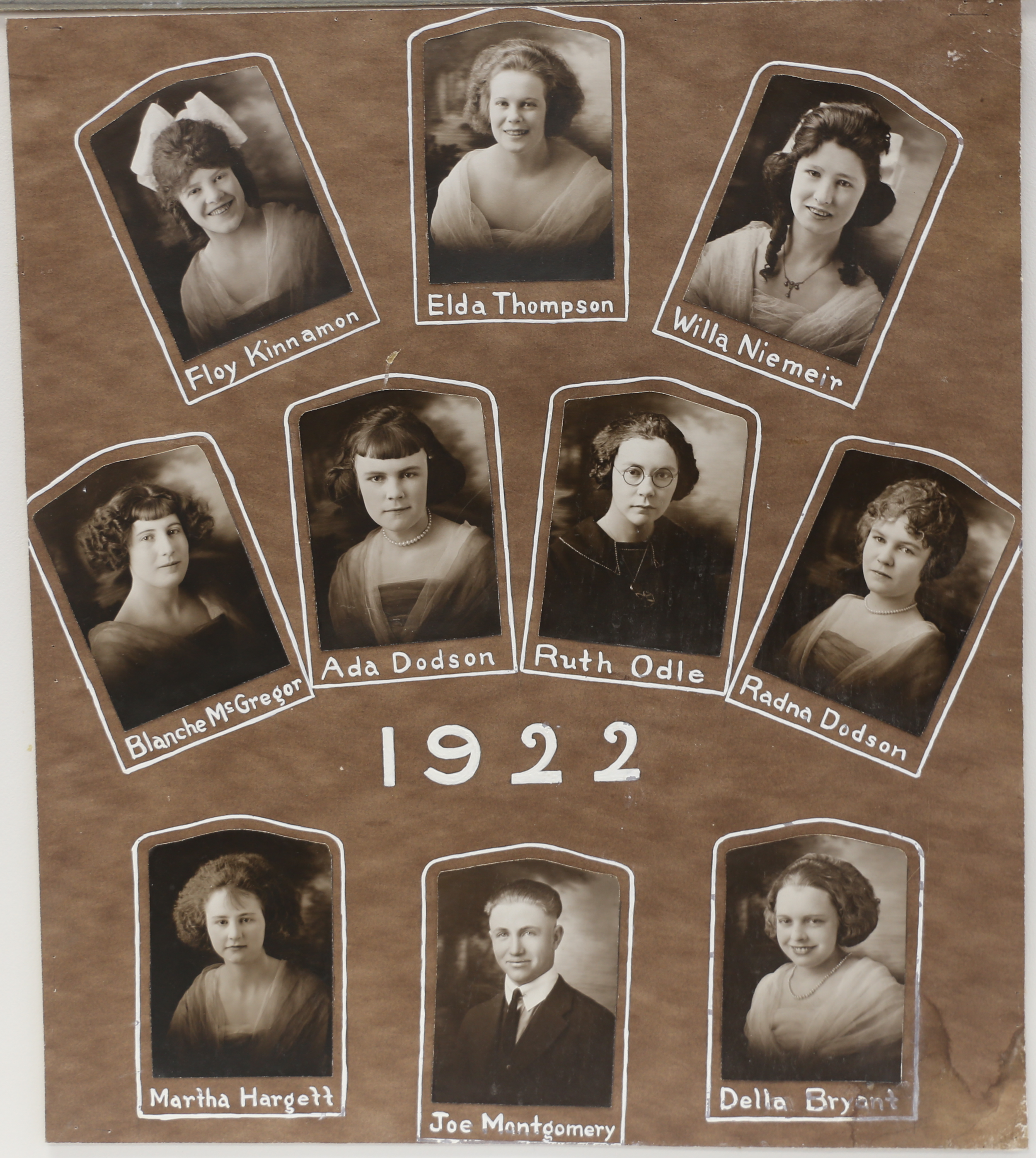 Montezuma Class of 1922