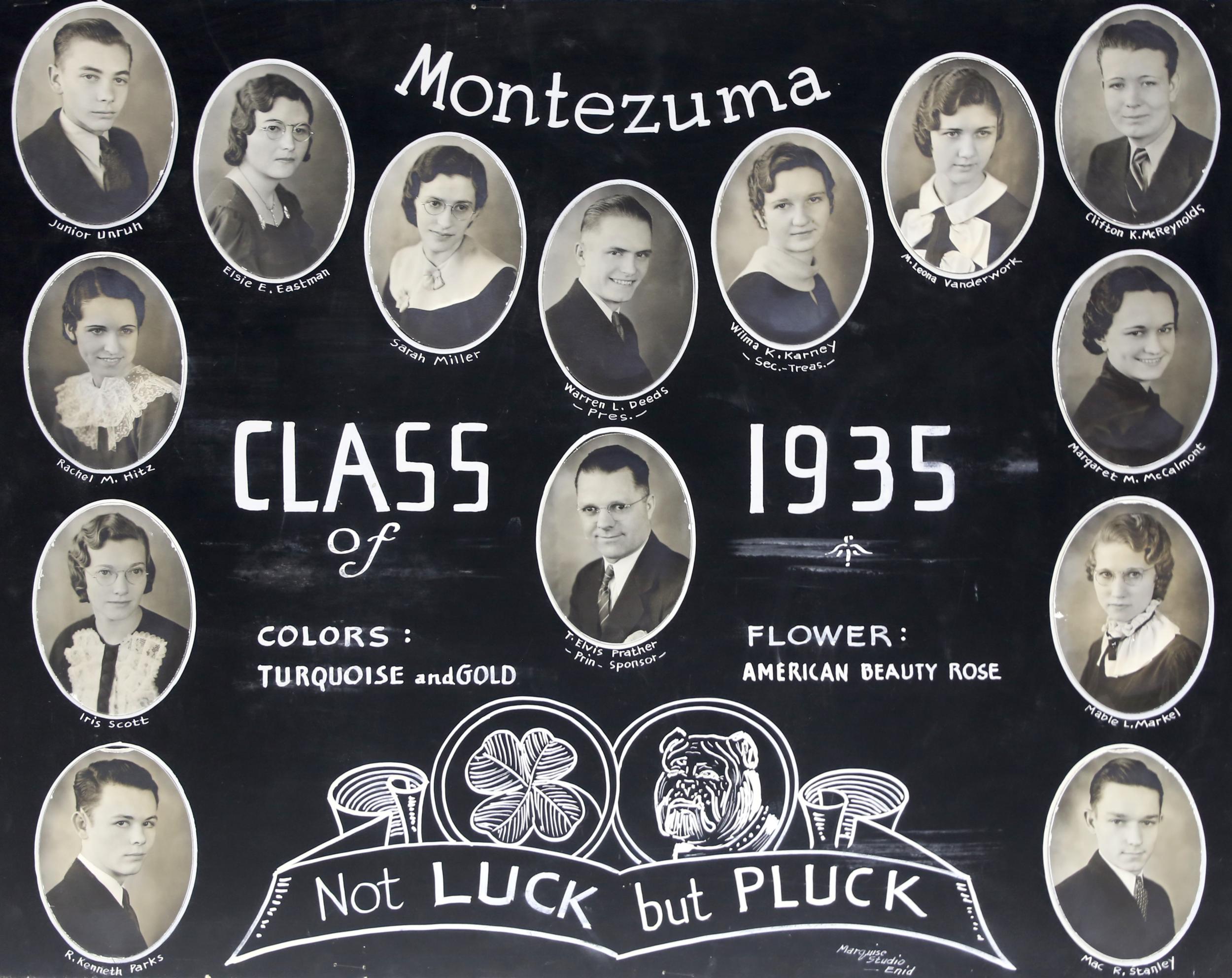 Montezuma GC 1935