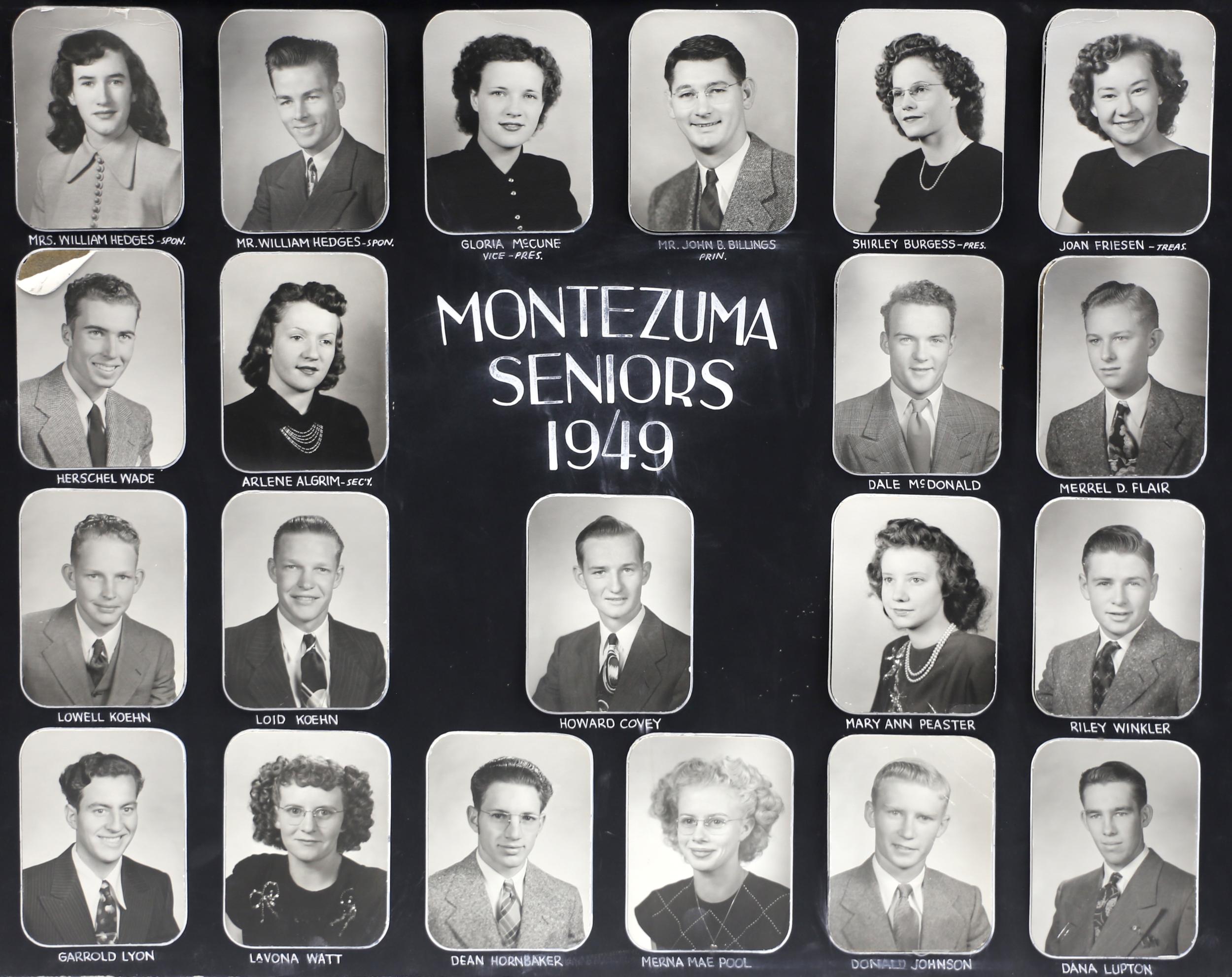 Montezuma GC 1949