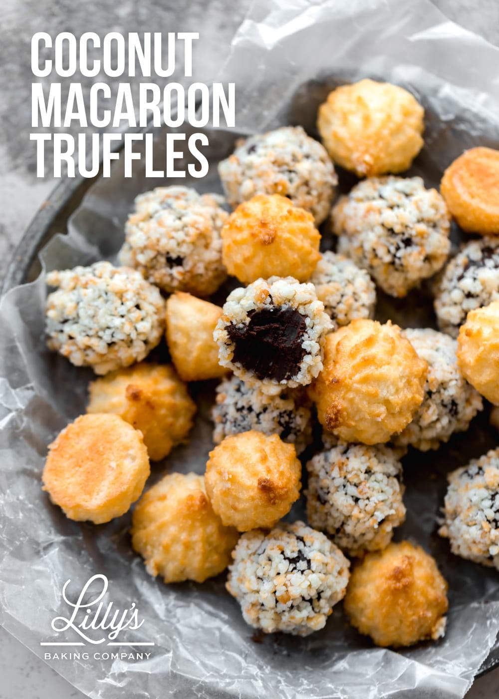 Coconut Macaroon Truffles