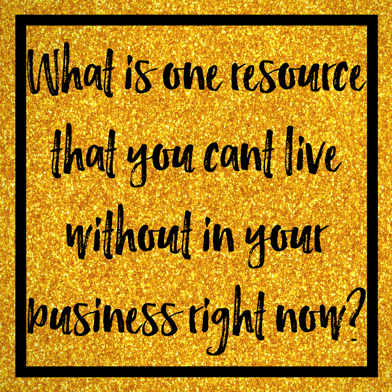What Is The One Resource You Can't Live Without