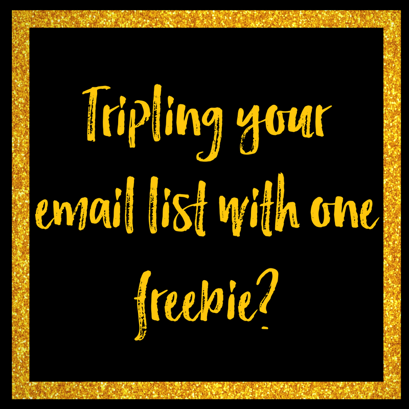 Tripling Your Email List With One Freebie - Cassandra Davis Coaching