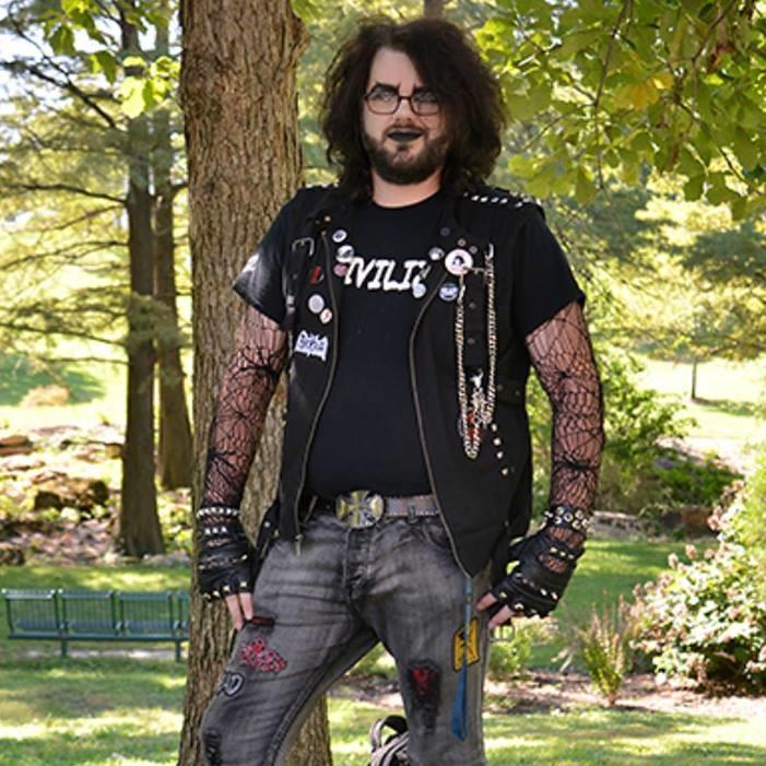 Chandler Crenladh - St. Louis local co-organizer for Gateway Goth Events.