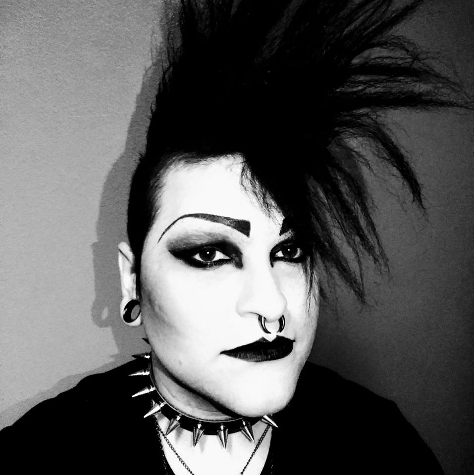 """Christopher Risano - Tampa area local artist and illustrator. Organizer for OU's """"Goths Decend"""" social event series."""