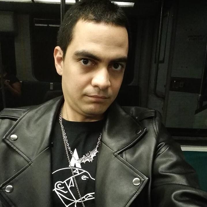 DJ Seraph - Boston local goth-industrial DJ.
