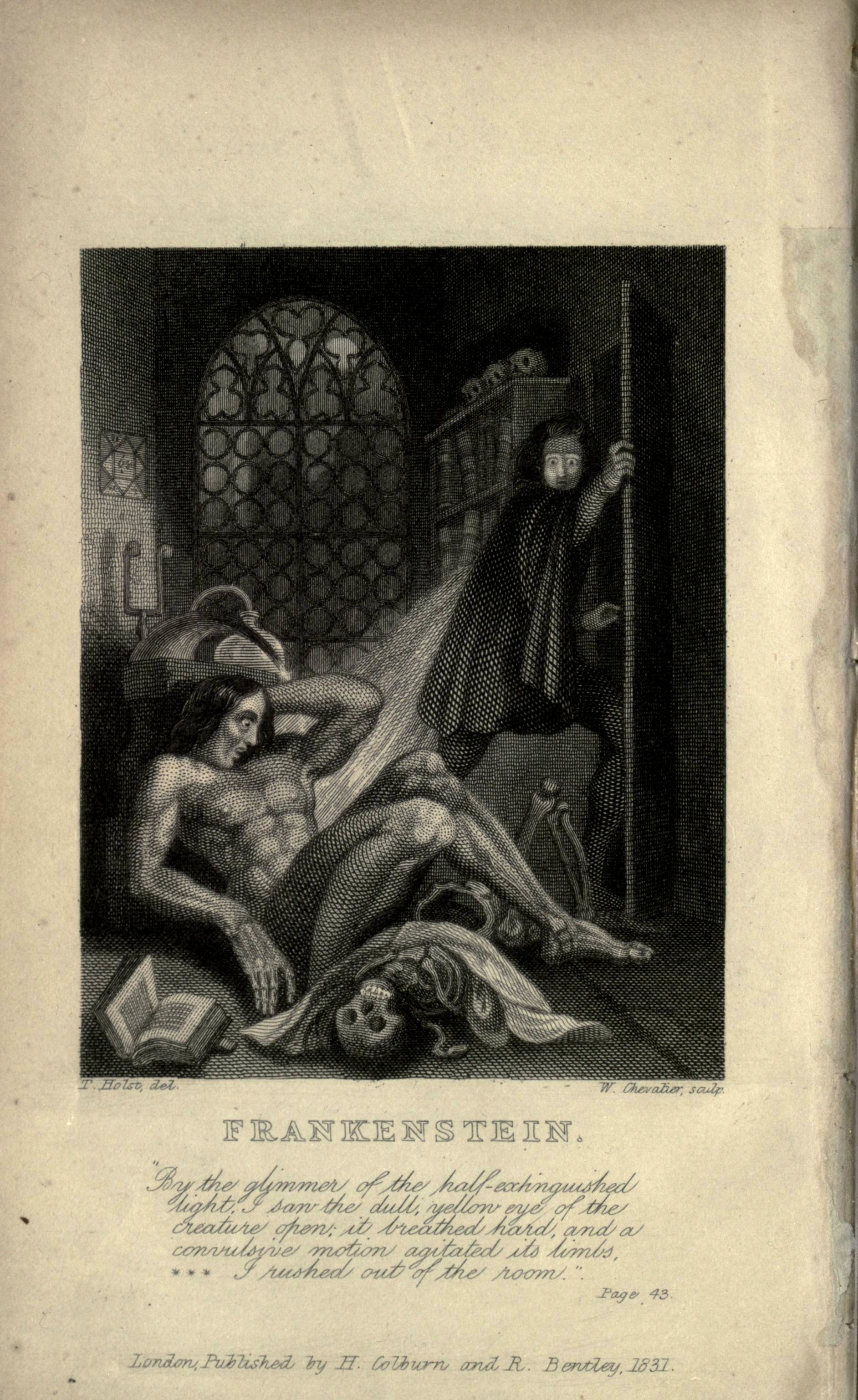 Illustration from the 1831 edition by Theodor von Holst -
