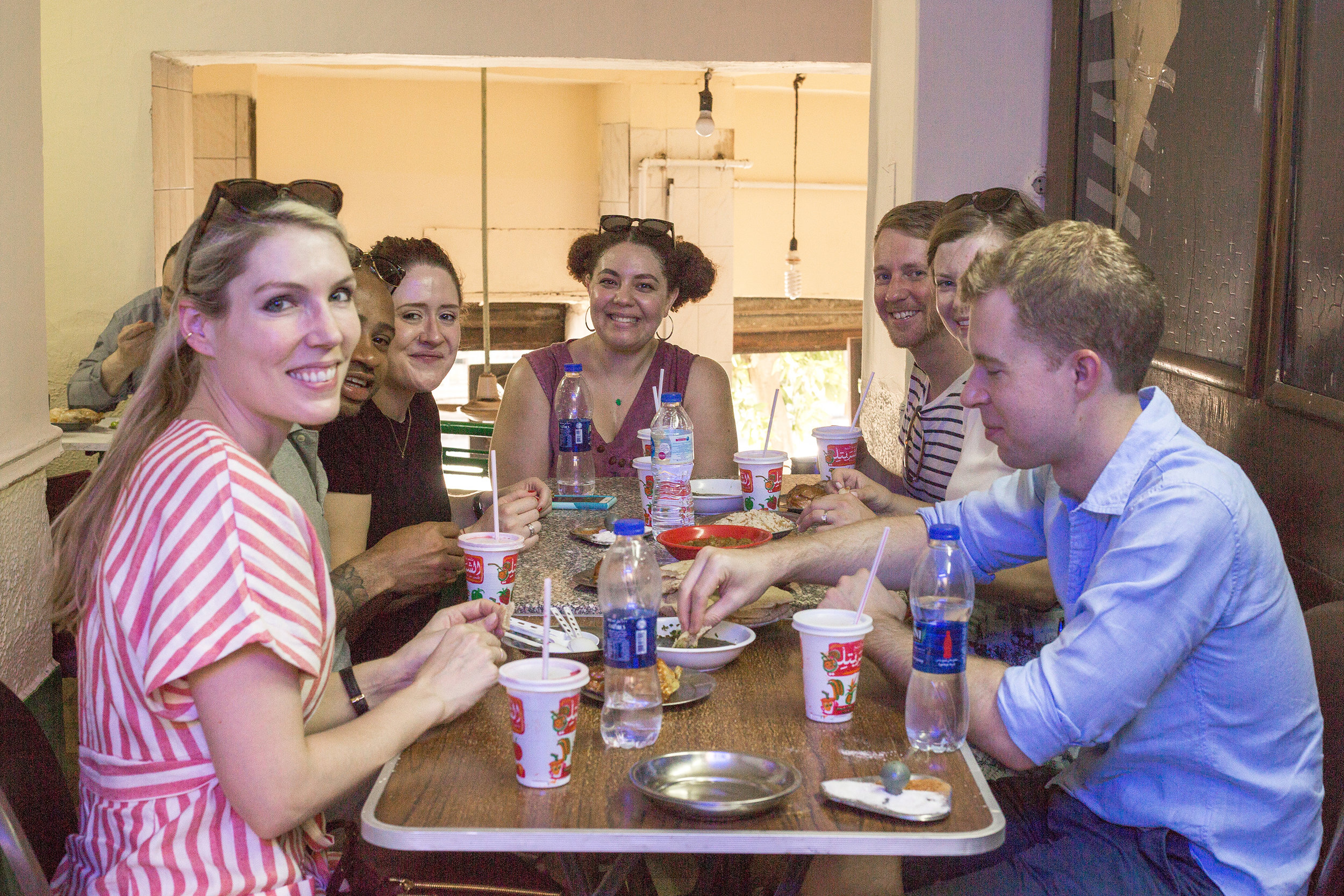 "authenticity is our game - ""I got a chance to have a feel for the streets of Cairo while eating authentic dishes from local places and exchanging travel stories with others in the group.""- A foodie from Canada"