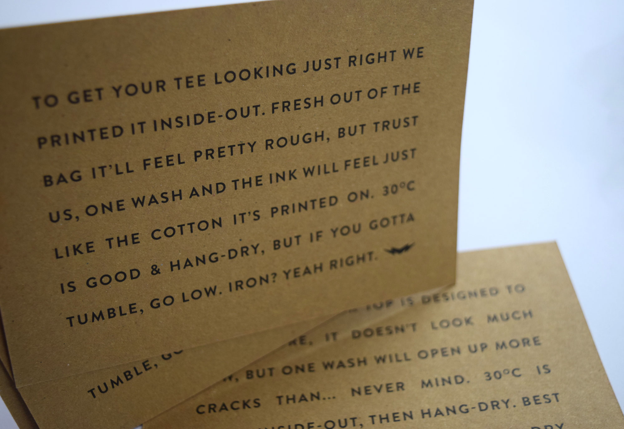 Printed Recycled Cards