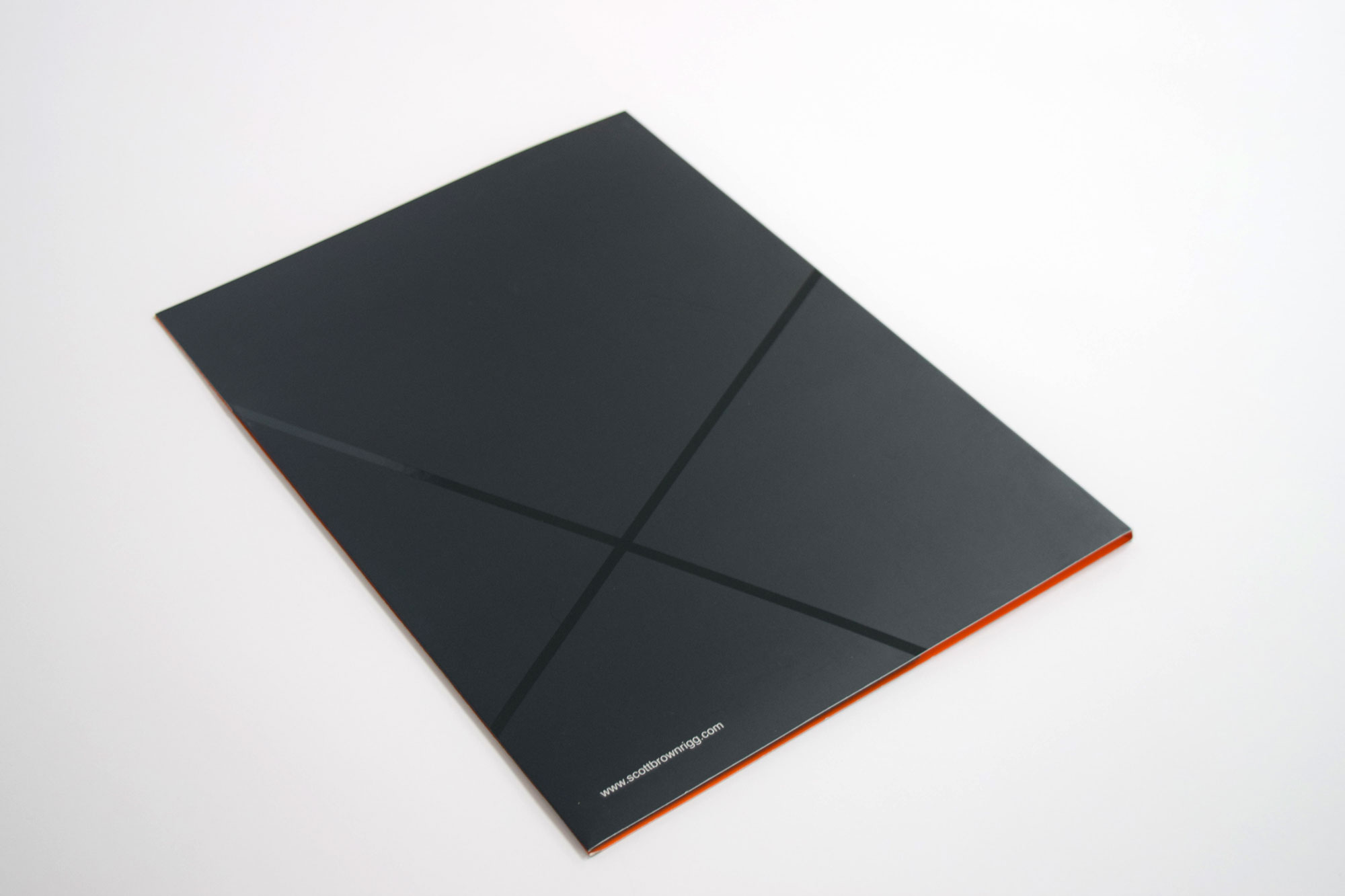 Spot uv folders
