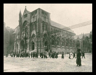 ST. Francis Xavier (College) Church c. 1900