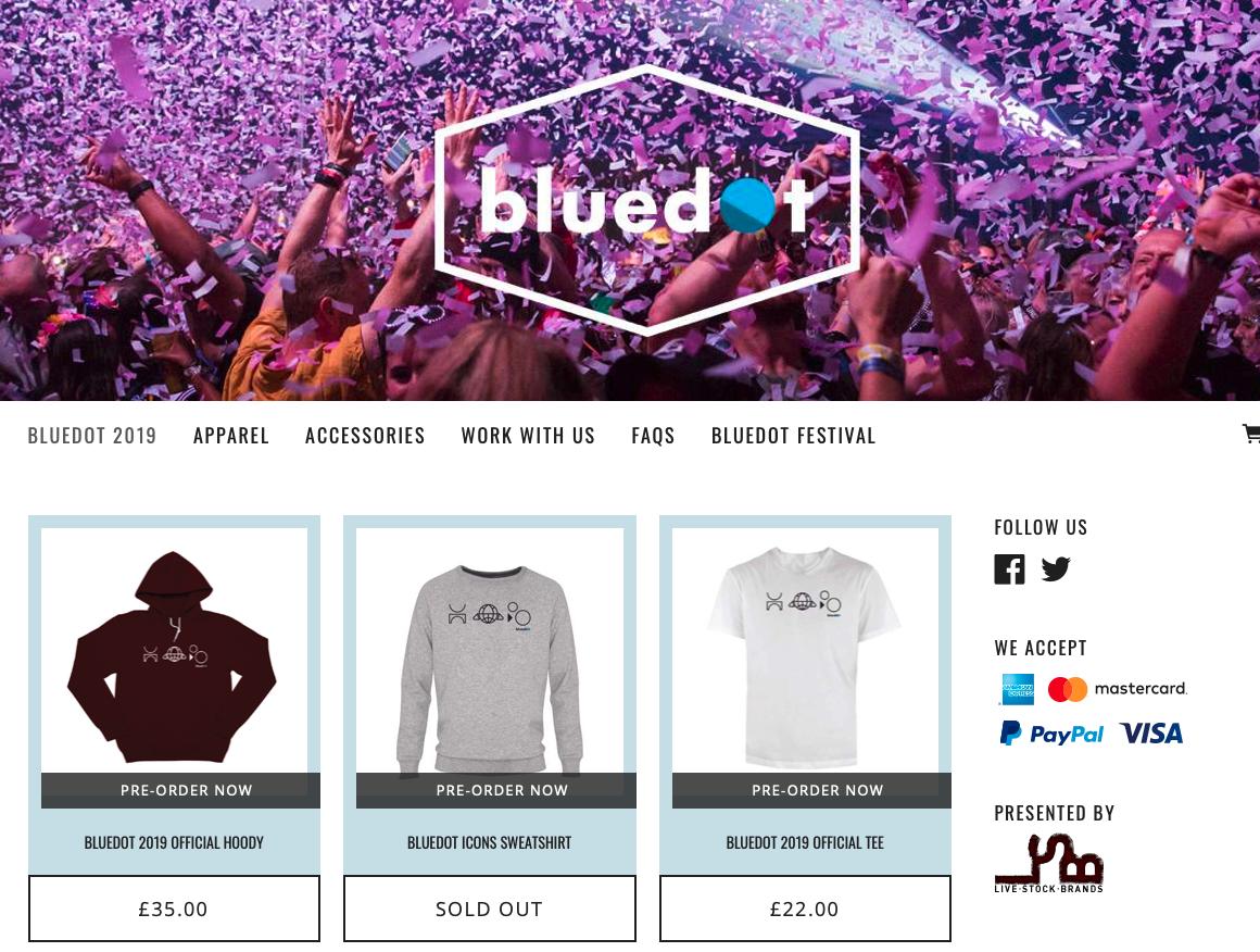 Bluedot Festival -  www.bluedot-store.livestockbrands.co.uk