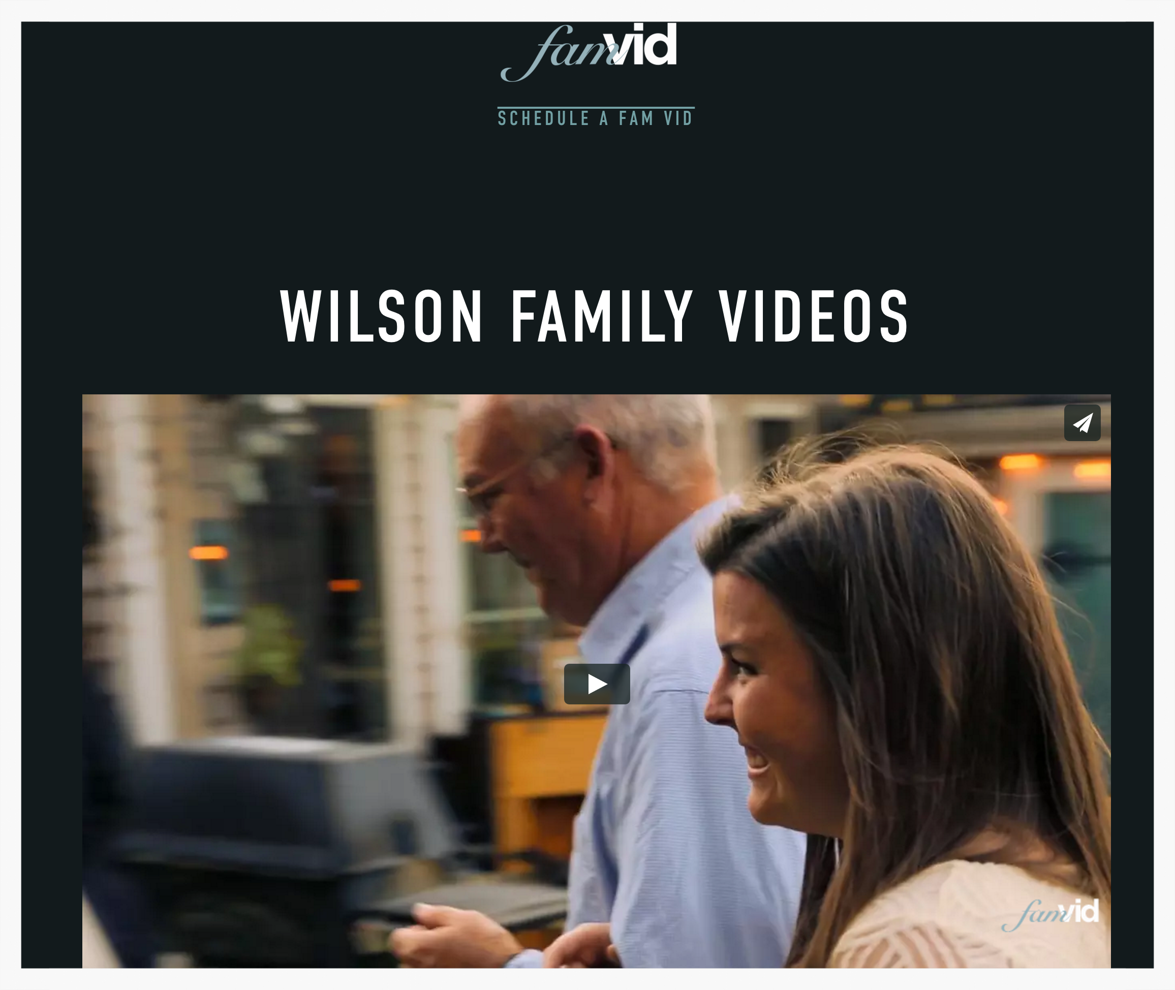 myfamvid example page