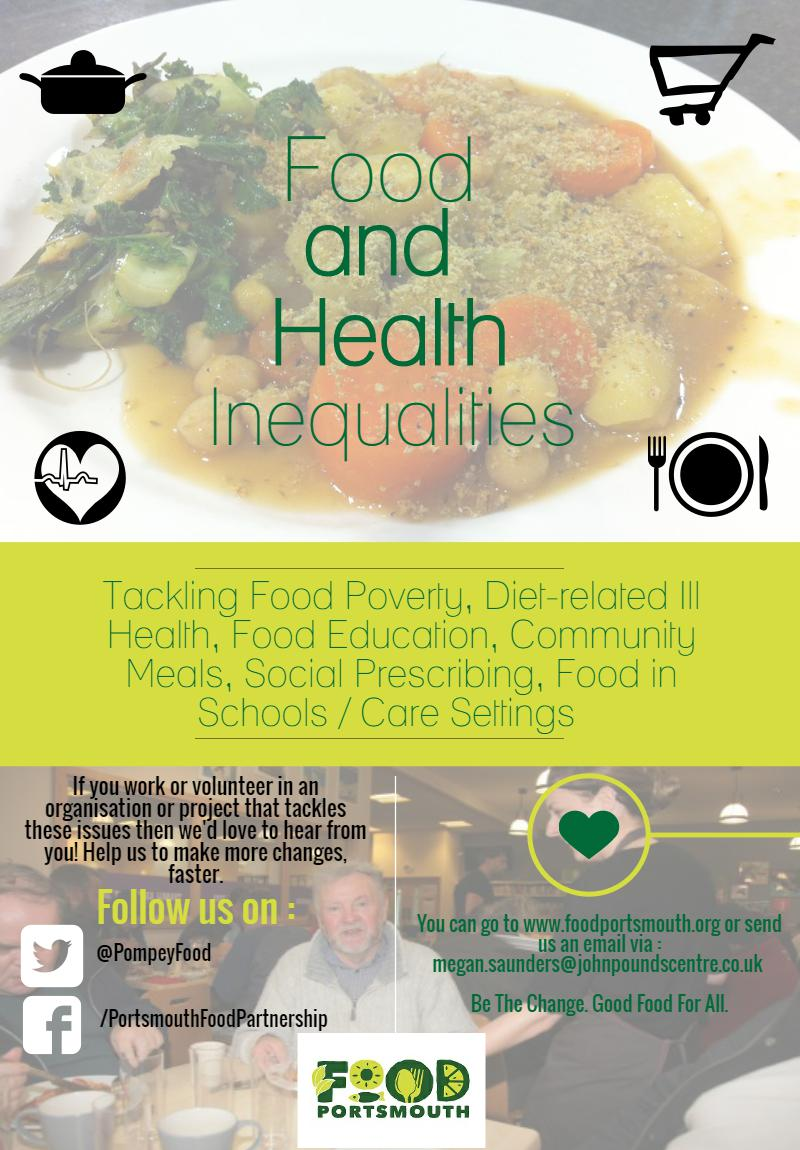 This group is taking ACTION to reduce food and health inequalities in Portsmouth