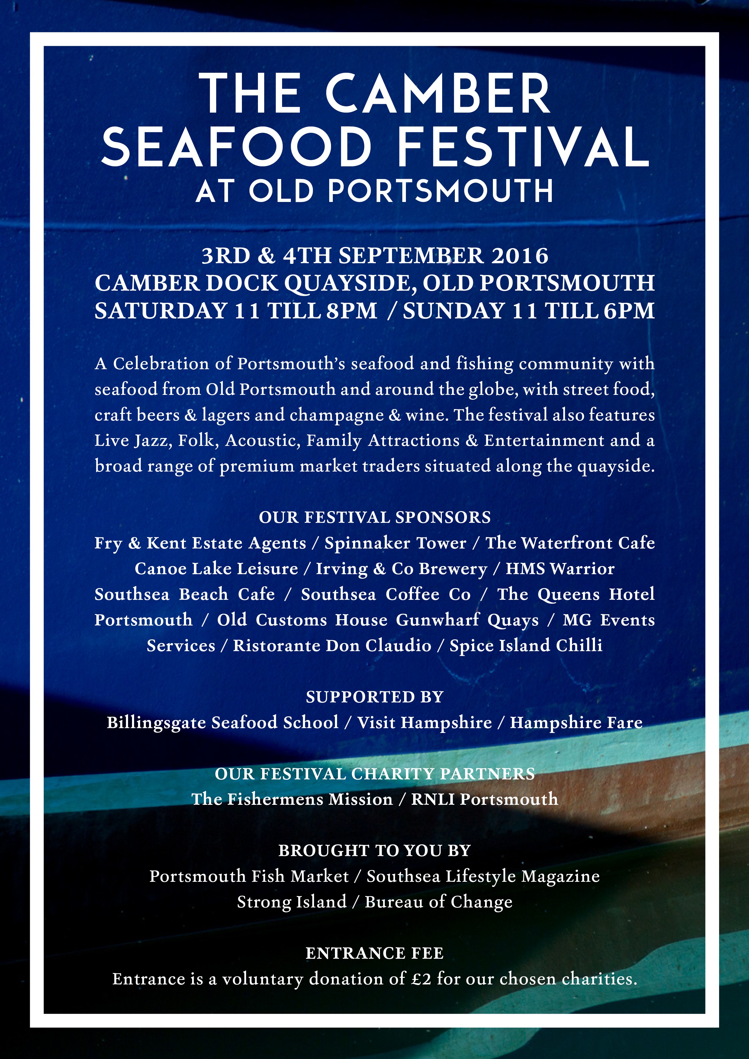 The Camber Seafood Festival
