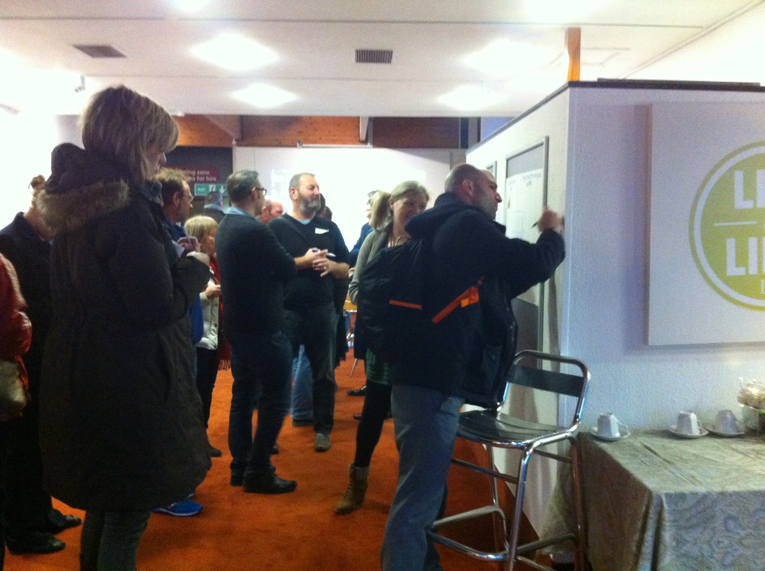 A Food Portsmouth networking and ideas event in 2016