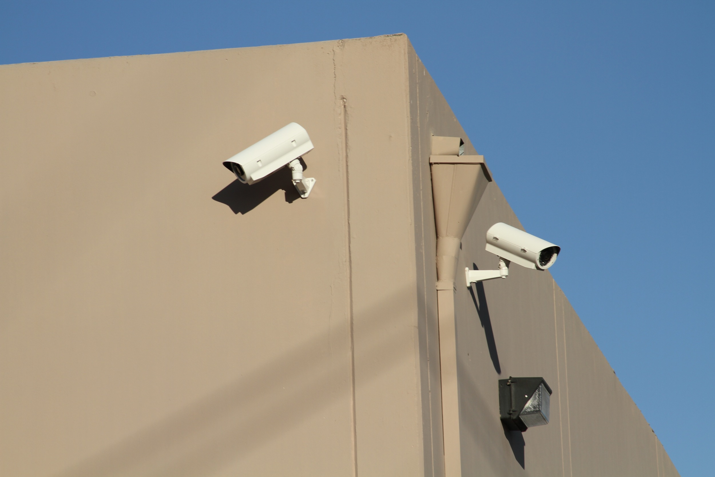 Exterior Shipping Dock Surveillance