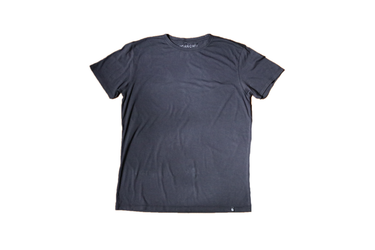 ICANCHU ESSENTIAL T-SHIRT - BLUE CHARCOAL