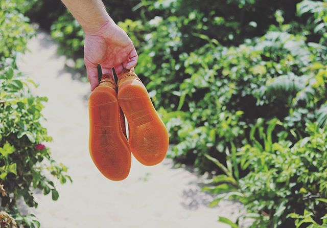 Handmade in France, the SEABOARD soles are produced using ancient techniques that date back to the days of the Aztecs. The result? The world's most comfortable soles 👊