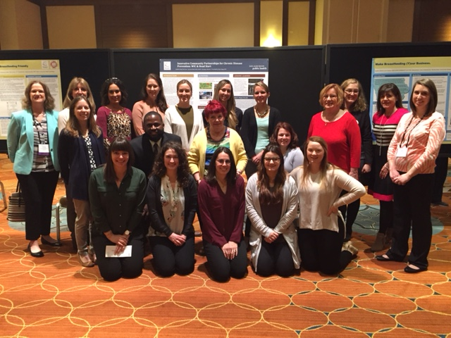 Here is the CPHMC group at Sunday's poster session!